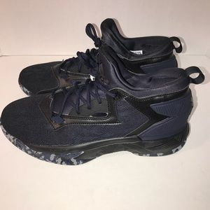 Adidas Lillard 2 Black/Blue Mens Sz 10 B42386